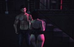 Pull me like a ripcord... (CalebBryant) Tags: secondlife sl couples kitty kitten