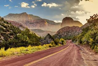 Sunrise at Kolob Canyon, Utah