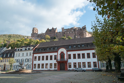 Karlsplatz, Brunnen, Schloss