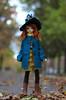 meetup in woods (Vitarja) Tags: lina soom sueve dim body bjd helloween dolls witch