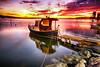 KIPKIZIL BOSTANLI (by_COSKUNTUNA ... 3.699.000 THANK YOU) Tags: coskuntuna eralpege 2017 turkey türkiye travel reflection random rainbow bravo red ege eos70d canon70d canon clouds colouds sunset sea sky sun view visit beauty beautiful boat bostanli bostanlı natura landscapes