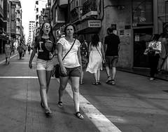 Siesta (Walimai.photo) Tags: black white blanco negro byn bw branco preto zamora street lumix lx5 panasonic camino santiago vía plata candid portrait robado callejero calle