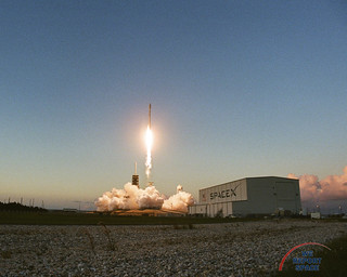 Liftoff of SES-11 atop a flight-proven Falcon 9 Rocket