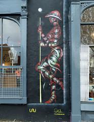 Londongraf (BenoitGEETS-Photography) Tags: londres london graph grafiti grafitti graphe peinture d3200 nikon nikonpassion bandelette garde gardian gardien momie ottoschade geets benoitgeets misterblue