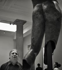 LOndon_British Museum staring at nude (Charles R. Yang) Tags: london sculpture britishmuseum england tourist gallery minolta 24mm