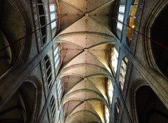 Auch Cathedral (real ramona) Tags: auch circus pirates church cathedral france arches vaulting gothic