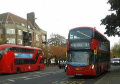 45, Gemini 3   Go-Ahead London Central WHV168 LF67EXA (Unorm001) Tags: red london double deck decks decker deckers buses bus routes route 45 35 diesel hybrid electric dieselelectric hybridelectric battery batteryelectric greener green air for corridor brixton streatham whv168 whv 168 lf67exa lf67 exa