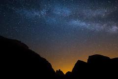 When the Sun goes down it's time for the Stars (luigig75) Tags: milky way trecimedilavaredo dreizinnen veneto trentinoaltoadige dolomiti summer stars starscape landscape italia italy canon 70d efs1022mmf3545usm