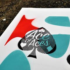 The case of the ambiguous ambigram (Ace of Aces detail) (id-iom) Tags: ace aceofaces aerosolpaint ambigram ambiguous art arts bristol brixton cool covfefe design england idiom london paint pistol pollistol spray spraypaint stencil stripe text toisstol tolistoj tolstoy uk urban vague word words aces