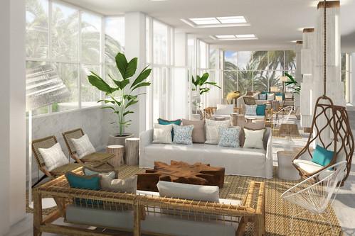 lobby hotel Ibiza