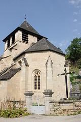 L'église Sainte-Austremoine, Salle-la-Source, Aveyron (lyli12) Tags: église monumenthistorique aveyron romane patrimoine ancien france nikon