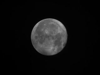 moon 7th October 2017 - 93 % Voller Mond