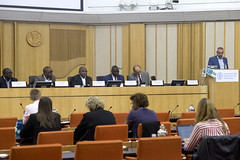 12143j0065 (FAO News) Tags: rome italy fao headquarters conference directorgeneral sideevent redroom