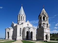 Ghazanchetsots Cathedral (D-Stanley) Tags: ghazanchetsots cathedral shushi nagornokarabakh armenian
