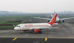 Air India (vomm_aviationpictures) Tags: plane planespotting planes photography photo pilots spotting airplane aircraft aerodrome airport airlines airways aviation airline a320 airbus320 airindia ai mumbai bom canon canon1200d closeup 55250mm 1855mm 2k17 2017 1200d