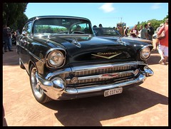 Chevrolet Bel Air, 1957 (v8dub) Tags: chevrolet bel air 1957 chevy schweiz suisse switzerland neuchâtel american gm pkw voiture car wagen worldcars auto automobile automotive old oldtimer oldcar klassik classic collector