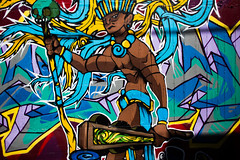 Religion (Thomas Hawk) Tags: flickrmeetup califorina mission missiondistrict sanfrancisco usa unitedstates unitedstatesofamerica graffiti sfflickr sfflickrmeetup fav10