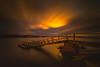 Pier (Jyrki Salmi) Tags: jyrki salmi norssaari kotka finland longexposure pier sunset