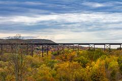 Moodna Viaduct (JMFusco) Tags: railroadbridge autumn landscape orangecounty train newyork salisburymills fall railroad moodnaviaduct