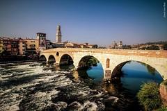 Ponte di Pietra (IVAN 63) Tags: verona ponte di pietra pontedipietra