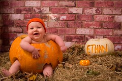 Ethan's First Halloween (Mark240590) Tags: smile happy boy baby pumpkin halloween