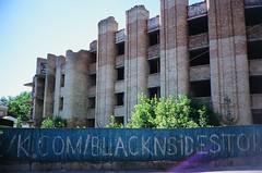 Київ, Україна (slo:motion) Tags: abandoned україна київ kiev kyiv ukraine windows window bricks brick architecture fuji provia400x contaxt2