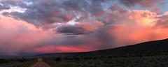 Road to glory (Chief Bwana) Tags: az arizona sunset houserockvalley pariaplateau vermilioncliffs clouds dirtroad psa104 chiefbwana panorama