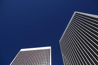 Century Plaza Towers, W. LA.  In Explore 10/27/17