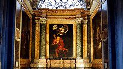 Caravaggio, Inspiration of St. Matthew