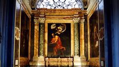 Caravaggio, Inspiration of St. Matthew