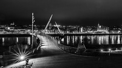 Peace bridge Derry / Londonderry over the river Foyle (jac.photography49) Tags:
