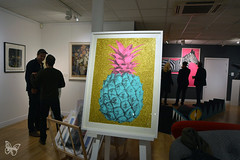 Rowdy & Wilde (Butterfly Art News) Tags: rowdy wilde clifton fine art bristol screenprint contemporary