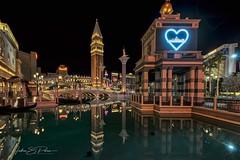 The Other Venetian (JSP92) Tags: prayforvegas vegasstron canal water reflection night venetian strip nevada lasvegas