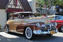 21st Annual La Verne Cool Cruise (USautos98) Tags: 1948 chevrolet chevy fleetmaster bomb aerosedan