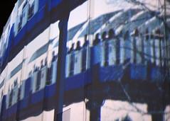 Transports à Expo 67 (Transportation at Expo 67) (JB by the Sea) Tags: montreal montréal quebec québec canada september2017 urban publicart videoinstallation expo67live quartierdesspectacles placedesarts nationalfilmboardofcanada expo67
