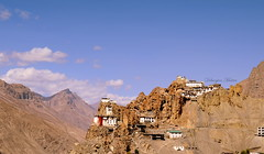 Dhankar Monastery,Spiti Valley,HP#incredible India (debanjanmaitra) Tags: monastery monk buddhism mountains architecture nature life peak peace nikkon loveforphotography sky mountain landscape india