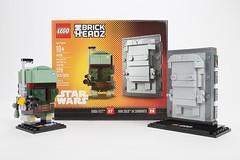 LEGO Star Wars BrickHeadz 41498 - Boba Fett & Han Solo in Carbonite (THE BRICK TIME Team) Tags: lego brick star wars 2017 brickheadz han solo carbonite 41498 boba fett