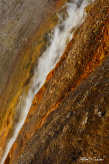 To The Point_27A0562 (Alfred J. Lockwood Photography) Tags: alfredjlockwood nature abstract geothermalrunoff color shapes patterns texture excelsiorgeyser microbialmat grandprismatic yellowstonenationalpark morning summer