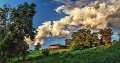 IMG_4203-04Ptzl1RscTBbLGER (ultravivid imaging) Tags: ultravividimaging ultra vivid imaging ultravivid colorful canon canon5dmk2 clouds scenic sky rural vista landscape lateafternoon latesummer fields farm sunsetclouds pennsylvania pa panoramic