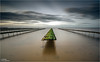 ____TT____ (Kevin HARWIN) Tags: oyster beds water sea calm beach sand rocks stones sky clouds green blue brown long exposure canon eos m3 sigma 1020mm lens whitstable kent south east uk england britain bubble raordinary sense space movement