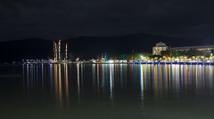 Shiny Places (Jakob Prömer) Tags: canon photography city nightshot longtime exposure night color esplanade cairns queensland australia gbr greatbarrierreef eos400d