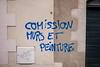 "#Manif10octobre #Nantes #GameOfTags: ""COMISSION MURS ET PEINTURE"" (ValK.) Tags: gameoftags loitravailxxl pjlterrorisme loitravail cabanedupeuple etatdurgencepermanant maisondupeuple nantes politique valk demonstration fonctionpublique graff graffiti greve intersyndicale manifestationunitaire social tag france fr"