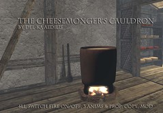 Cheesemonger's Cauldron @Genre (nea.narstrom) Tags: craftingseries delkaaedilis cheesemonger medieval rustic vikings torvaldsland north norse