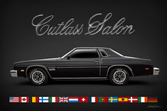 International Flavor (DL_) Tags: black oldsmobile cutlass salon sportscoupe automotive transportation