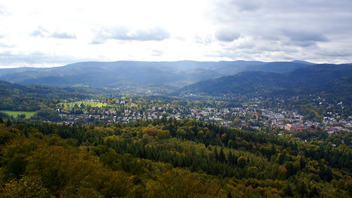 Baden-Baden from Alte Schloss