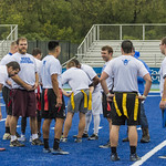 "<b>Alumni Flag Football Game</b><br/> Luther alumni played a friendly football match on the homecoming 2017 saturtday the 7th of october. The Alumni tested the new blue turf of the Legacy Field for the first time! Photo by Hasan Essam Muhammad<a href=""//farm5.static.flickr.com/4499/37072062003_4087bee6c7_o.jpg"" title=""High res"">∝</a>"