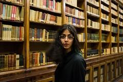 dangerous discover (simone.pelatti) Tags: books library ancient portrait mistery surprise glasses sonya6000