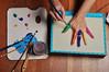 Finger Painting (eddi_monsoon) Tags: threesixtyfive 365 selfportrait selfie self portrait fingers paint palette brushes