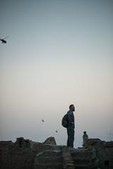 (alexandrabidian1) Tags: sky helicopter iraq erbil travel reiselust sunset