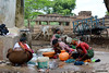 "363-""Kurrando"" (Ambrispuri) Tags: ambrispuri india portrait retrato group woman mothers washerwoman hampi"